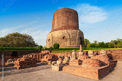 Obraz na płótnie Dhamekh Stupa