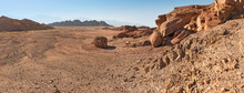 Desert And Mountain Canyons
