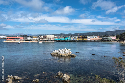 City on the water Monterey Bay, California