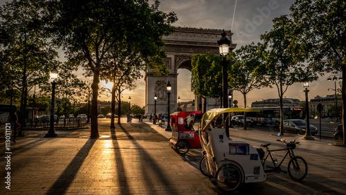 Fotografie, Obraz  Arc de Triomphe, Paris, France
