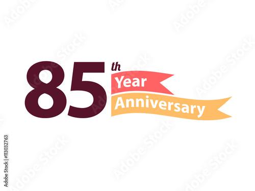 Fotografía  Anniversary Logo