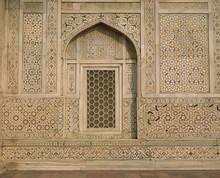 Detail Of The Tomb Of Itmad Ud Daulah (Itimad-ud-Daulah), Agra, Uttar Pradesh State