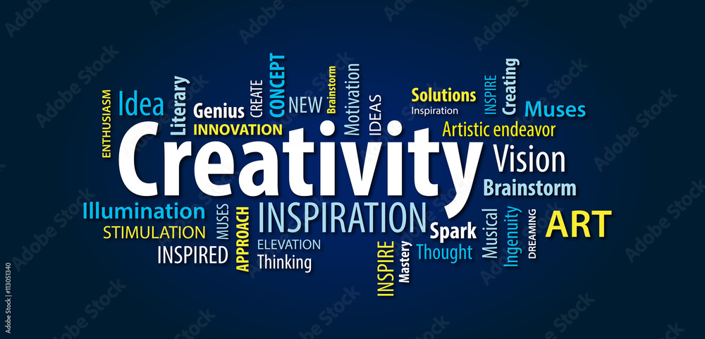 Fototapety, obrazy: Creativity