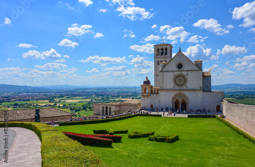Photo Assisi (Umbria), Italy - The awesome medieval and catholic town in the central I
