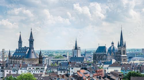 Aachen im Sommer Wallpaper Mural