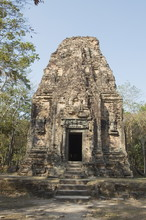 Temples In The Ancient Pre Angkor Capital Of Chenla, Cambodia