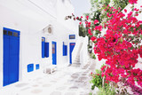 Fototapeta Do pokoju - Street in Mykonos town, Mykonos island, Cyclades, Greece