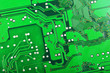 canvas print picture - Circuit board background