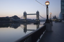 Tower Bridge Reflected In The ...