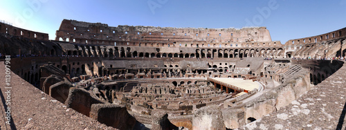 Fotografie, Obraz  The Colosseum also called as the Flavian Amphitheater of Rome