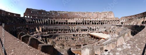 Fotografia, Obraz  The Colosseum also called as the Flavian Amphitheater of Rome