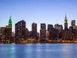 New York City Manhattan buildings skyline