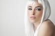Leinwanddruck Bild - blond beauty portrait