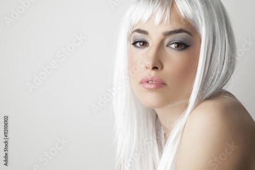 Fotografía  blond beauty portrait