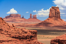 View Of Monument Valley In Nav...