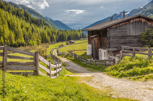 Foto  Alter Bergbaunerhof im Hinteren Ahrntal