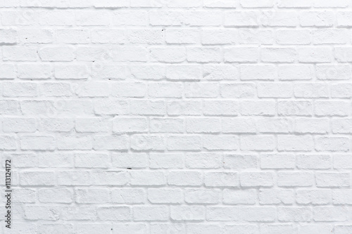 A white brick wall - 113124172