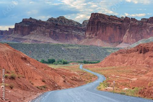 Fotografie, Obraz  Scénické jízdy na Capitol Reef NP, Utah, USA