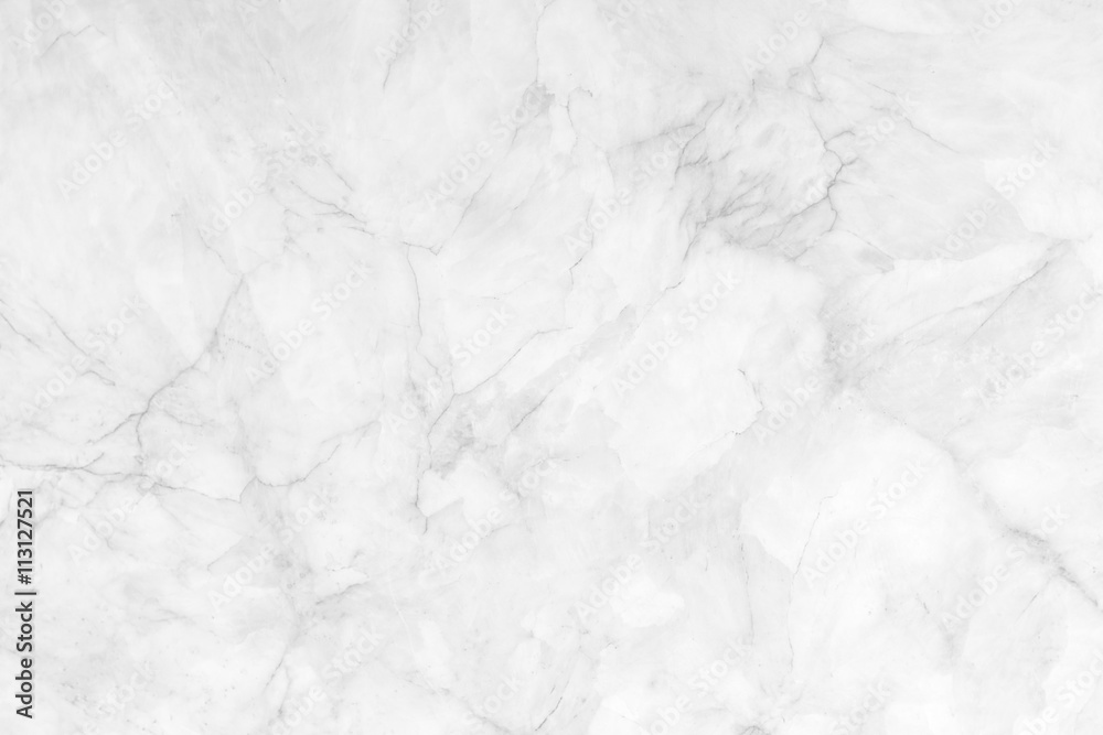 Fototapeta white marble texture background, abstract texture for design
