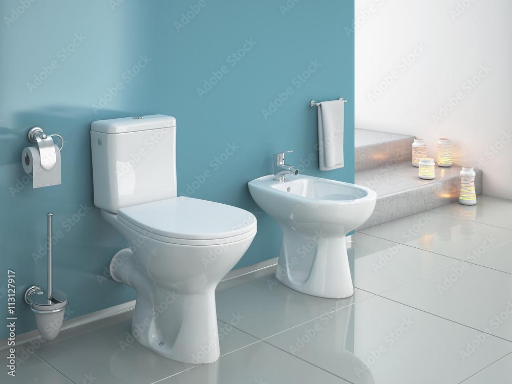 Toilet Te Koop.Poster Foto Modern Wc Bathroom Toilet Koop Op