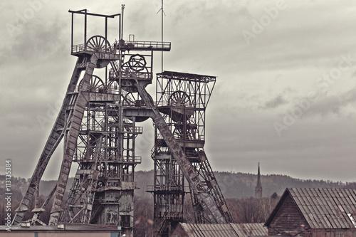 Photographie Old coal mine