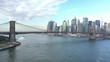 Lower Manhattan and East River