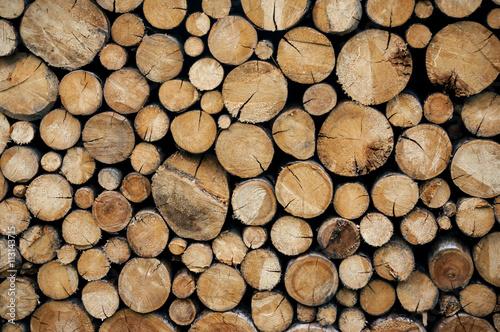 Photo sur Aluminium Texture de bois de chauffage Ciocchi di legno