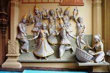 Statues At The Sri Krishnan Ba...