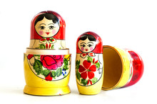 Traditional Russian Matryoshka...