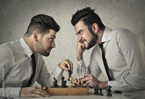 Fotografia  Playing chess