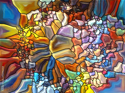 Conceptual Stained Glass