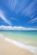 沖縄のビーチ・屋部の浜