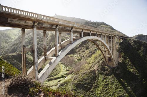 Keuken foto achterwand Bruggen Bridge in mountains