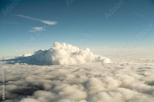 View of clouds in sky