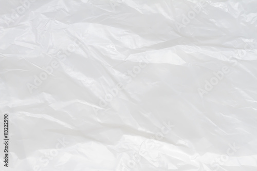 Fotomural  White Plastic Bag Texture, macro, background