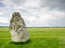 Heel Stone In Stonehenge