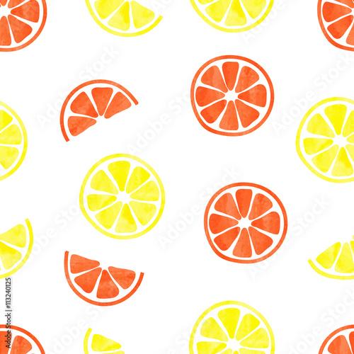 akwarela-cytrusowy-wzor-wektorowy-tlo-z-akwarela-plasterkami-cytryny-i-pomarancze