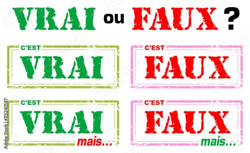 Fotografering Tampons vrai ou faux