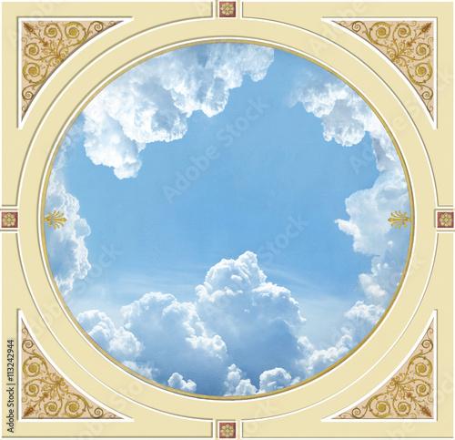 Fotografie, Obraz  ceiling