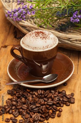 fototapeta na lodówkę Kaffee