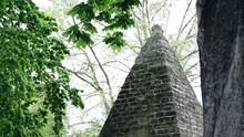 Little Pyramid In Monceau Parc In Paris