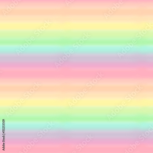Cotton fabric cute colorful pastel watercolor rainbow seamless pattern background illustration