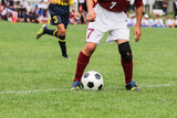 Fototapeta Sport - サッカー フットボール