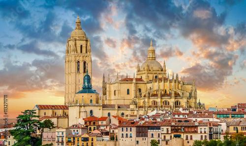 Catedral de Santa Maria de Segovia, Castilla y Leon, Spain Fotobehang