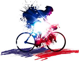 Fototapeta na wymiar Ciclismo