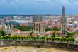 Catedral de Burgos desde el mirador del castillo (España)