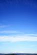 daisetuzan seen from Asahikawa Airport , Blue sky , with copy sp