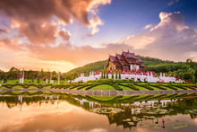 Royal Flora Ratchaphruek Park Of Thailand