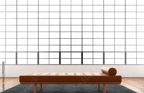 Stupendous Modern Interior Studio Loft Huge Panoramic Window Natural Cjindustries Chair Design For Home Cjindustriesco