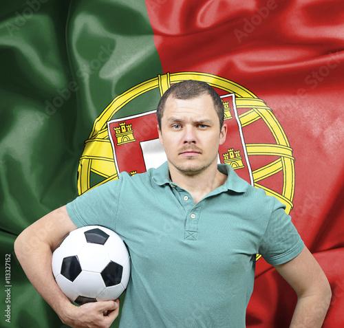 Proud football fan of Portugal